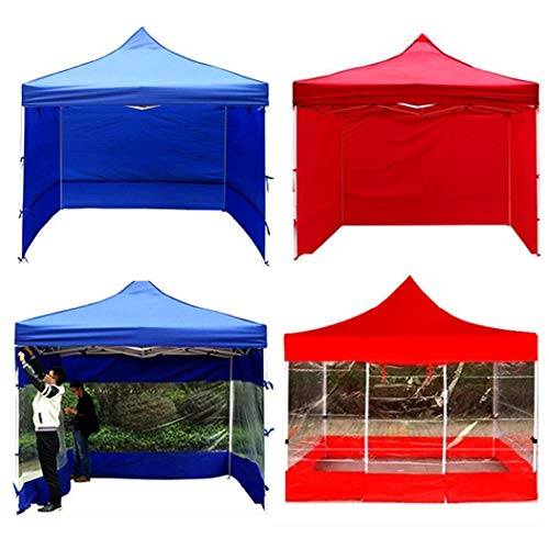 Fandazzie Cubierta plegable de protección solar al aire libre para cobertizo de tela para lluvia Tiendas de túnel