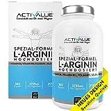 [page_title]-VERGLEICHSSIEGER 2018*: L-Arginin Spezial-Formel, das Erfolgsprodukt von Dr.med. Wagner, 4500mg L-Arginin HCL, verstärkt durch B6, B12, Selen und Folsäure, 360 Kapseln, 1 Dose (317 g)