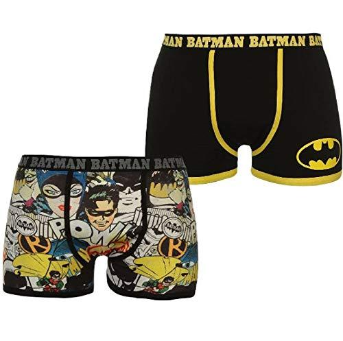 Batman Herren Boxershorts, Schwarz, M