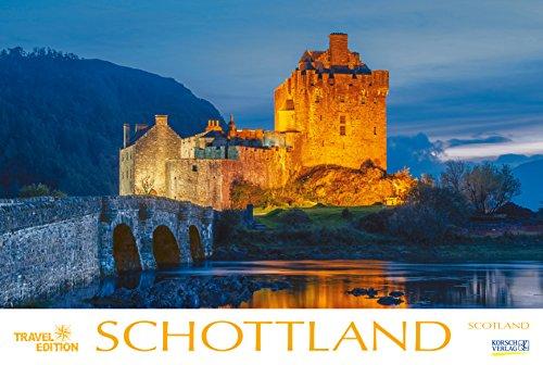 Schottland 213019 2019: Großer Foto-Wandkalender mit Bildern aus Britannien. Travel Edition mit Jahres-Wandplaner. PhotoArt Panorama Querformat: 58x39 cm.