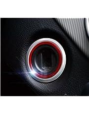 WOQUi Pegatina del Interruptor de Encendido del Coche de Arranque del Motor