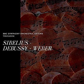 Sibelius - Debussy - Weber