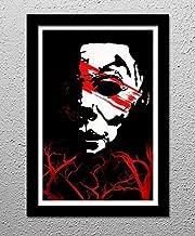 Halloween Horror Movie Michael Myers - Original Minimalist Art Poster Print
