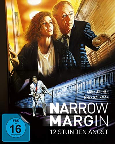 Narrow Margin - 12 Stunden Angst - Mediabook  (+ DVD) [Blu-ray]