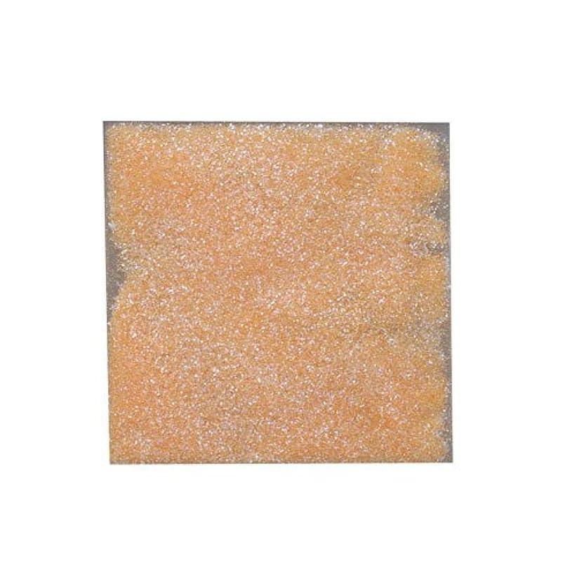 記述するライトニング贅沢なピカエース ネイル用パウダー ラメカラーオーロラB 耐溶剤 S #532 オレンジ 0.7g