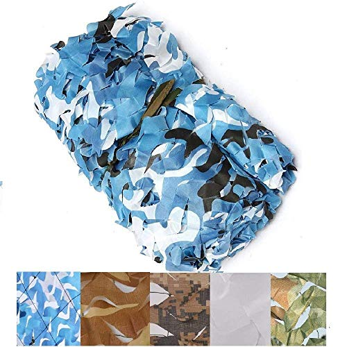 Shade Net, Blau Tarnnetz, Sonnennetz Balkon, UVfarbton Netz, Einen Garten Sonne, Sonnensegel Tuch, Netto-Anlage, EIN Gewächshaus, Eine Abdeckung Motorhaube, Schatten Rate 70% (Size : 4 * 5m)