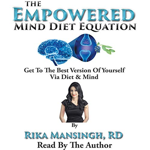 The Empowered Mind Diet Equation audiobook cover art