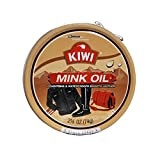 3 PK Kiwi Mink Oil Conditions & Waterproofs Leather 2.5/8 Oz.