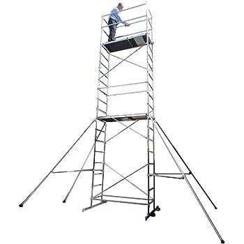 Zarges Tubesca First 7 - Andamio para manualidades, 7 metros, aluminio: Amazon.es: Bricolaje y herramientas