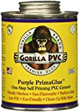 TRUE VALUE PP16204 16 OZ, Purple, PVC Glue