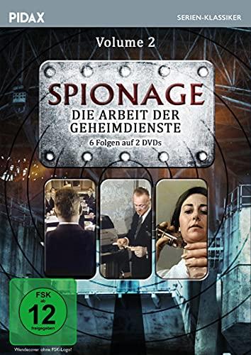 Spionage - Die Arbeit der Geheimdienste, Vol. 2 / Weitere 6 Folgen der spannenden Krimiserie mit Starbesetzung (Pidax Serien-Klassiker) [2 DVDs]