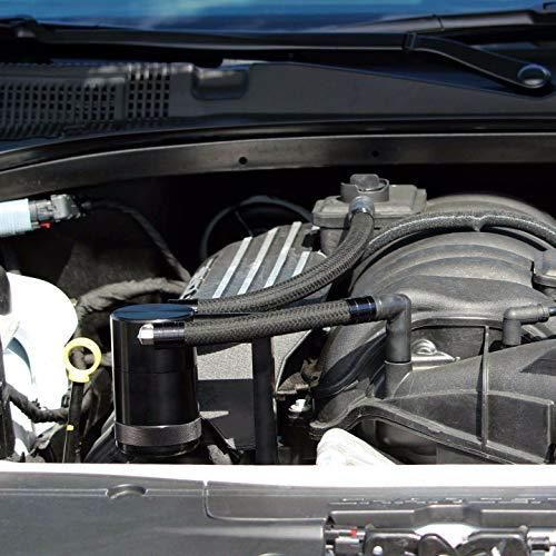 09-21 Billet Signature Series Catch Can 5.7 6.4 Hemi Technology Z-Bracket - Fits Shaker - Black