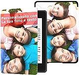 Custodia personalizzata per Amazon Nuovo Kindle Paperwhite (10a generazione, versione 2018) personalizzata con foto e testo per regali per il compleanno, il Natale, il capodanno