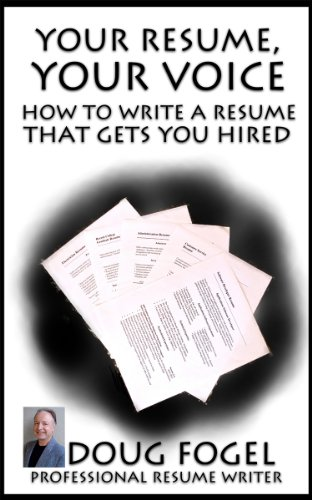 Your Resume, Your Voice (English Edition)