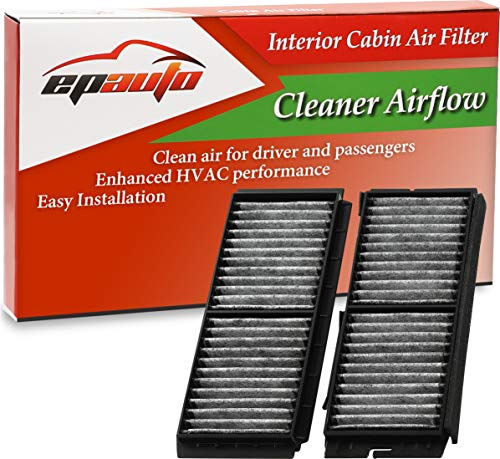 EPAuto CP672 (CF11672) Replacement for Mazda 3 Cabin Air Filter includes Activated Carbon