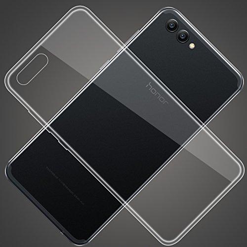 TopACE Hülle für Honor View10, Honor V10 TPU Hülle Schutzhülle Crystal Case Durchsichtig Klar Silikon Transparent für Huawei Honor View 10 (Transparent) - 6