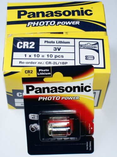 Panasonic Lot de 10 piles CR2