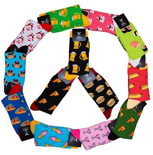 TwoSocks lustige Socken Männer und Frauen witzige Geschenkbox Fun Bier Socken 2 Paar, Baumwolle, Einheitsgröße, Strümpfe