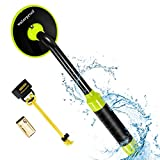 RM RICOMAX Metal Detector Underwater - Waterproof Pinpointer Up to 100 Feet Underwater for Scuba, All-Metal Mode & Pulse Induction Targeting with Vibration, 2021 Upgrade Verison
