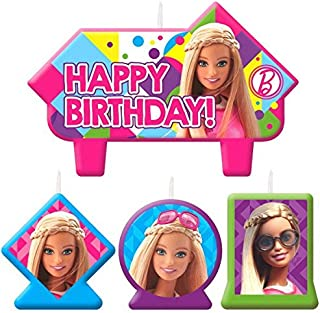 Candle Set   Barbie Sparkle Collection   Birthday