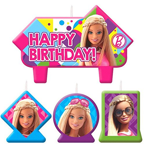 Candle Set | Barbie Sparkle Collection | Birthday