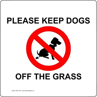 keep dogs off signs
