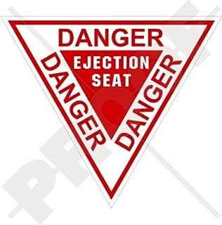 DANGER EJECTION SEAT USAF Martin Baker 4,7