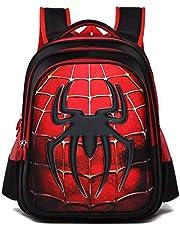 Boy's Cool Cartoon 3D Marvel Heroes School Backpack Rucksack (New Spider Man)