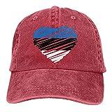 Bokueay Gorra de Mezclilla Deportiva de Estonia Ajustable Snapback Unisex Llanura Sombrero de Vaquero de béisbol Estilo clásico