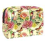 Bolsa de maquillaje rosa Bolsa de cosméticos Organizador de viaje Embrague de tocador