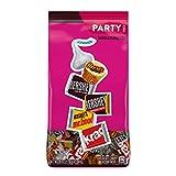 Hershey's Chocolate Candy Assortment (Kisses, Reese's, and Hershey's Miniatures), Bulk Bag, 35 Ounce by AmazonUs/HEVJA