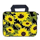 AMARY Chromebook Sleeve 11.6' Neoprene chromebook Bags Chromebook Sleeve Laptop Case Fit Apple MacBook Air HP DELL Lenovo Asus Samsung (Sunflower)