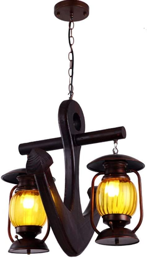 In a popularity Liunce 2-Lights European Vintage Metal Pendant Light Iron Glass Mail order cheap