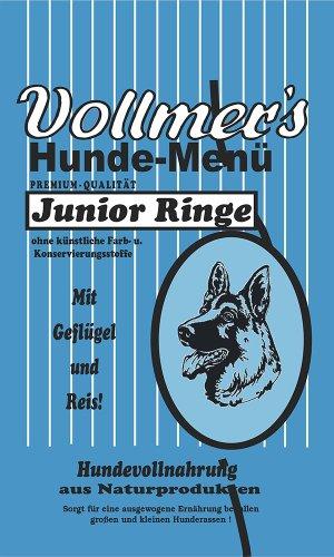 Vollmer's 37076 Hundefutter Junior Ringe 5 kg