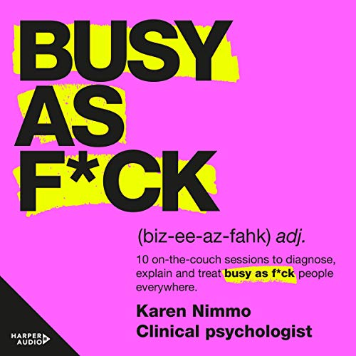 Busy as F*ck audiobook cover art