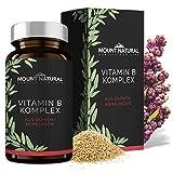 Vitamin B Komplex aus Quinoa-Keimlingen mit allen 8 B-Vitaminen (B1, B2, B3, B5, B6, B7, B9, B12) - kba-Qualität, 60 vegane Kapseln à 500 mg