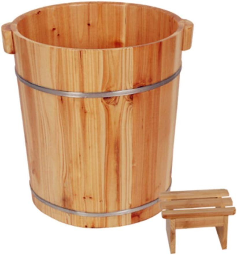 XingKunBMshop Pedicure Basin 40cm 70% OFF Outlet Barrel Buc Bath Foot Limited price sale