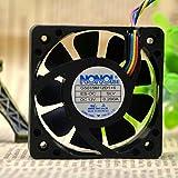 For NONOISE G5015M12D1 + 6 5015 12V 0.200A car audio cooling fan