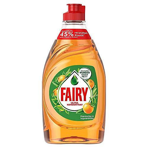 Preisvergleich Produktbild Fairy Mandarine & Ingwerblüte Ultra Konzentrat Hand-Geschirrspülmittel,  450 ml