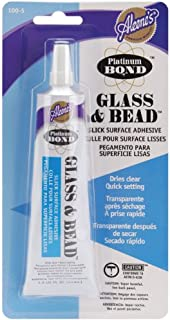 Aleene's Platinum Bond Adhesive Glass & Bead 1.5 oz
