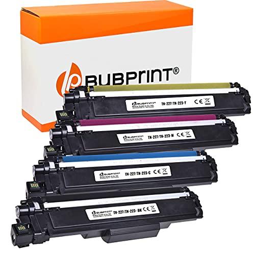 4 Bubprint Cartucho Tóner Compatible para Brother TN-247 DCP-L3510CDW DCP-L3550CDW HL-L3210CW HL-L3230CDW HL-L3270CDW MFC-L3710CW MFC-L3730CDN MFC-L3750CDW MFC-L3770CDW Set