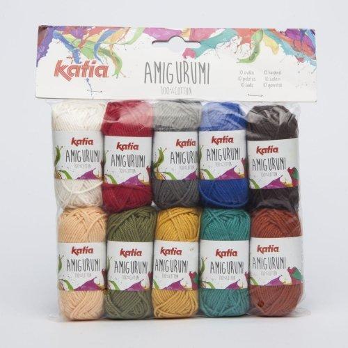 Katia Amigurumi S05100% algodón