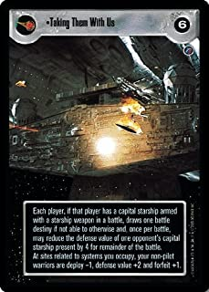 STAR WARS CCG LS DEATH STAR II TAKING THEM WITH US 96R