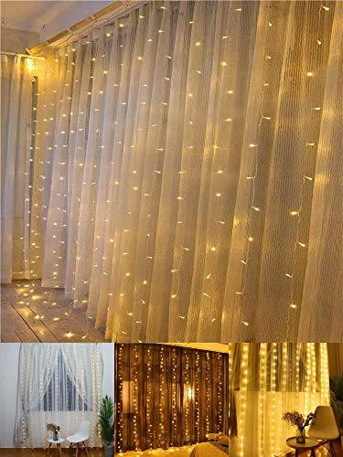 TECKEPIC イルミネーションライト 電池式ストリングライト 4.3m40個LEDボールライト ロマンチック雰囲気 防...