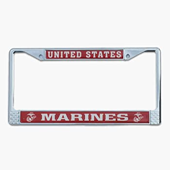 Direct LFM01 Mitchell Proffitt US Marines Semper Fidelis License Plate Frame Pro-Motion Distributing