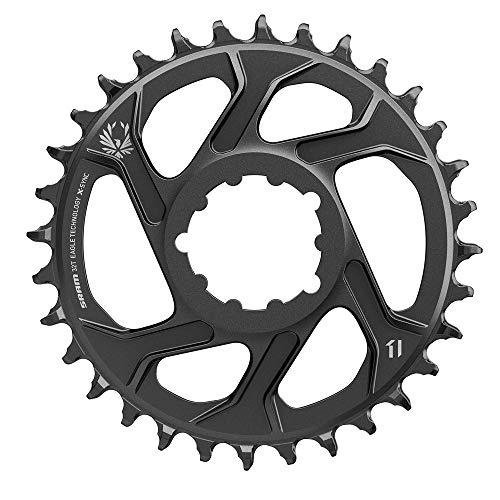 Sram MTB Direct Mount Aluminium 11-Fach X-Sync 0 mm Offset Kettenblätter, schwarz, 30T