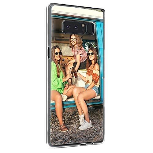 Caja personalizada del teléfono para Samsung Custom Print Photo Text en la cubierta del teléfono, personalizar con la imagen (Samsung Note8)
