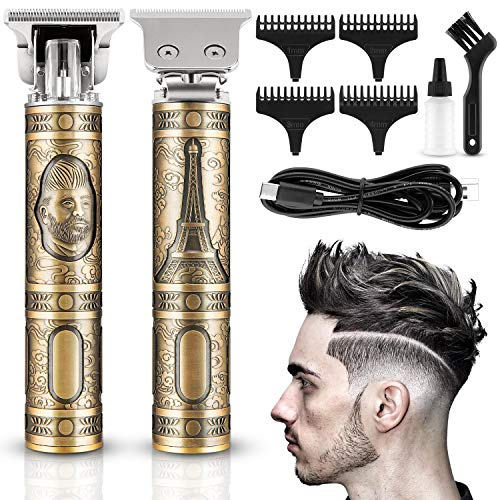 Lovebay Haarschneidemaschine Herren, Profi Haarschneider Maschine, Akku-Akku für den Heimgebrauch und Friseurladen mit 4 Führungskämmen Netzbetrieb Männer Rasierer Bartschneider Haartrimmer