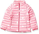 Amazon Essentials Hooded Puffer Jacket Outerwear-Jackets, Rosado Heart, XS