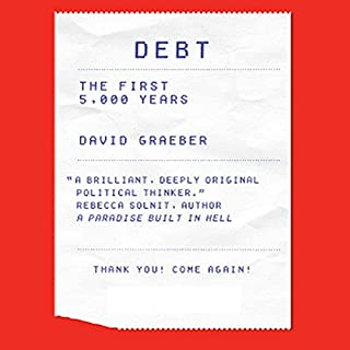 Debt audiobook cover art